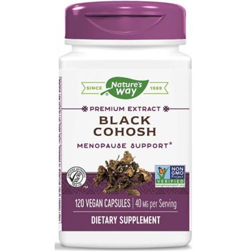 ขาย Nature s Way Standardized Black Cohosh 120 Capsules