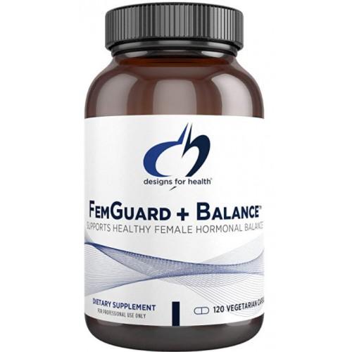 Designs for Health FemGuard Balance Herbal Hormonal Female Hormone Balancing Formula, 120 Vegetarian Capsules