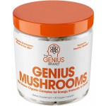อาหารเสริม เห็ด สกัด ยี่ห้อGenius Mushroom – Lions Mane, Cordyceps and Reishi by The Genius Brand