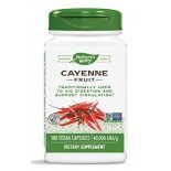 สารสกัดพริก Nature's Way Cayenne 40,000 SHU Potency, 180 Vegetarian Capsules  by Nature's Way