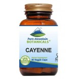 สารสกัดพริก Cayenne Pepper Capsules - 90 Kosher Vegan Caps by Pure Mountain Botanicals