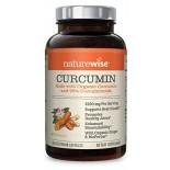 อาหารเสริมขมิ้นชันยี่ห้อ NatureWise Organic Curcumin Turmeric 180 Capsules by NatureWise ราคา