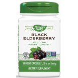 อาหารเสริม Nature's Way Black Elderberry Capsules