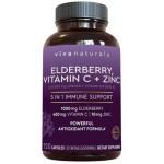 ขาย Elderberry, Vitamin C, Zinc, Vitamin D 5000 IU & Ginger by Viva Naturals