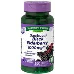 อาหารเสริม ออลเดอร์เบอร์รี่ Nature's Truth Sambucus Black Elderberry 100 Capsules