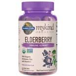 จำหน่ายออลเดอร์เบอร์รี่ Garden of Life Mykind Organics Elderberry Plant Based Immune Gummy
