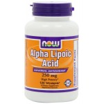 จำหน่าย ALA ยี่ห้อNOW Foods Alpha Lipoic Acid 250mg, 120 Vcaps