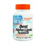 alpha lipoic acid ยี่ห้อDoctor's Best Alpha-Lipoic Acid (600 Mg) Vegetable Capsules, 60-Count