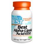ALADoctor's Best Alpha-Lipoic Acid, 600 Mg, 180 Veggie Caps
