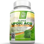 ขายกรดอัลฟาไลโปอิก	Alpha Lipoic Acid Softgels - 300mg Fast Absorption Liquid Softgels By BRI Nutrition