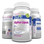 ALA ยี่ห้อPure Alpha Lipoic Naturally Occurring Universal Vitamin Antioxidant, 500mg, 60 Veggie Capsules