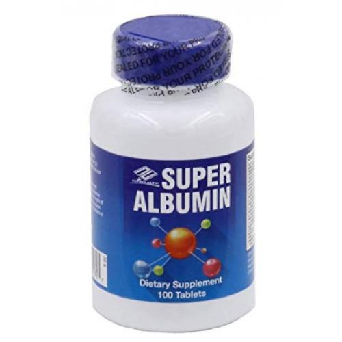 ขาย โปรตีนไข่ขาว Nuhealth Super Albumin (100 Tablets)