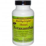 แอสต้าแซนทิน ยี่ห้อ Healthy Origins, Astaxanthin, 4 mg, 150 Softgels
