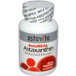 อาหารเสริม แอสต้าแซนทิน Astavita, AstaReal, Astaxanthin, 60 Softgels