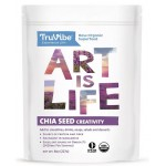 เมล็ดเชีย	TruVibe 100Percentage of Organic Raw Chia Seeds (8 Ounce)