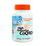 Coq10 ราคาส่ง ยี่ห้อ Doctor's Best High Absorption Coq10 w/ BioPerine (100 mg), 120 Soft gels