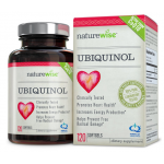 Coq10  NatureWise Ubiquinol with 100% Pure Kaneka QH, the Active Form of CoQ10, 100 mg, 120 Softgels