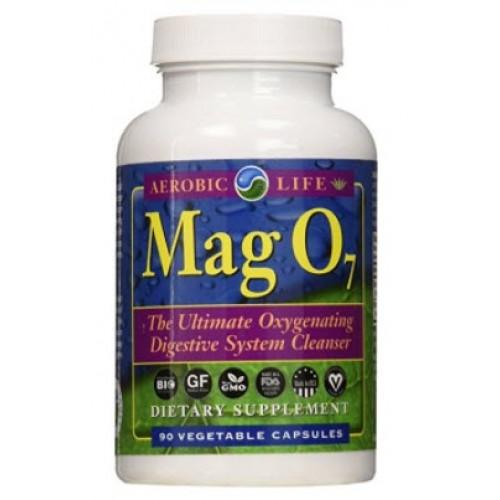 จำหน่าย อาหารเสริม ดีท็อกยี่ห้อ Aerobic Life Mag O7 Oxygen Digestive System Cleanser Capsules