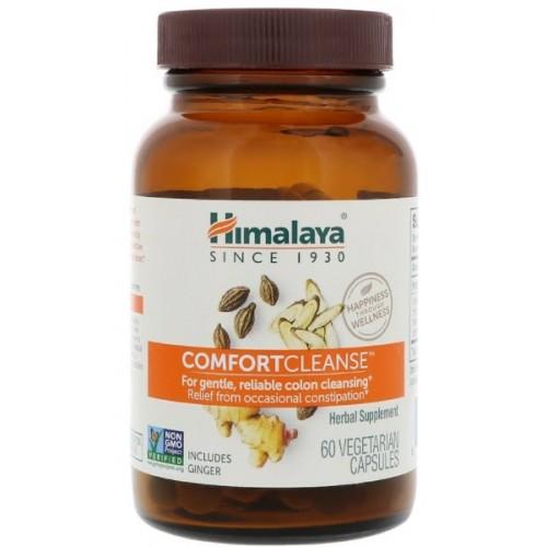 อาหารเสริม ดีท็อกยี่ห้อ Himalaya, Comfort Cleanse, 60 Vegetarian Capsules