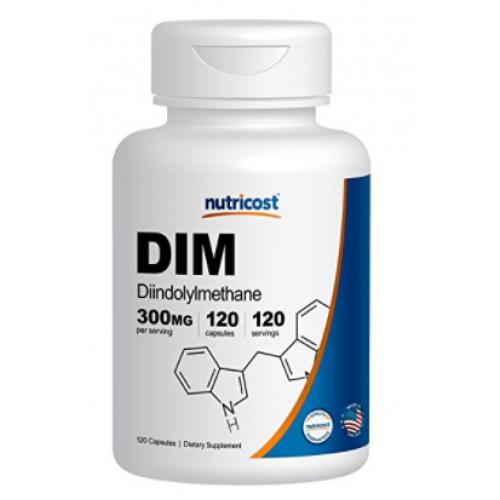 Nutricost DIM (Diindolylmethane) 300mg BY Nutricost