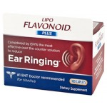 อาหารเสริมประสาทหู Lipo-Flavonoid Plus Ear Health Supplement, 100 Caplets