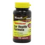 ขาย อาหารเสริมประสาทหูยี่ห้อ Mason Vitamins New Advance Ear Health Formula Caplets, 100-Count Bottle ราคาประหยัด