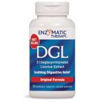 ชะเอม ยี่ห้อ Enzymatic Therapy DGL Original, 100 Chewables ราคาถูก
