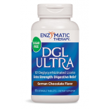 ชะเอม Enzymatic Therapy DGL Ultra German Chocolate Fructose Free Chewable Tablets