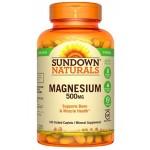 ขาย แมกนีเซียม Sundown Naturals Magnesium 500 mg, 180 Caplets
