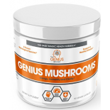 อาหารเสริม เห็ด ยี่ห้อ	Genius Mushroom – Lions Mane, Cordyceps and Reishi by The Genius Brand