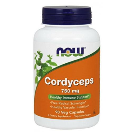ขาย อาหารเสริม เห็ด NOW Cordyceps 750 mg