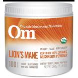 อาหารเสริม เห็ด ยี่ห้อ Om Organic Mushroom Nutrition Lion's Mane