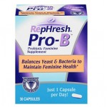 โปรไบโอติก RepHresh Pro-B Probiotic Feminine Supplement, 30-Count Capsules