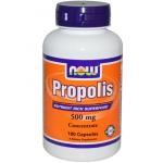โปรพอลิส Propolis ยี่ห้อ Now Foods, Propolis, 500 mg, 100 Capsules