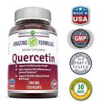 ขาย เควอซิทิน Quercetin 500 Mg 120 Vcaps by Amazing Nutrition