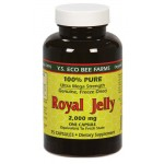 royal jelly ราคาส่ง ยี่ห้อ YS Royal Jelly/Honey Bee - Royal Jelly, 2000 mg, 75 capsules