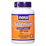 ซิลิเนียม ยี่ห้อ NOW Foods Selenium 200 mcg 180 VCaps ราคาถูก