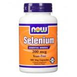 ซิลิเนียม ยี่ห้อNOW Foods Selenium 200 mcg 180 VCaps