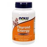 อาหารเสริมบำรุงไทรอยด์ NOW Foods Thyroid Energy Veg Capsules, 90 Vcaps