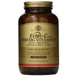 อาหารเสริม วิตามินซี ยี่ห้อ Solgar Ester-C Plus Vitamin C Ester-C Ascorbate Complex Tablets, 1000 mg, 180 Count