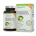 อาหารเสริมลดน้ำหนัก ยี่ห้อ NatureWise Garcinia Cambogia Extract Natural Appetite Suppressant and Weight Loss Supplement, 180 Count, 500mg