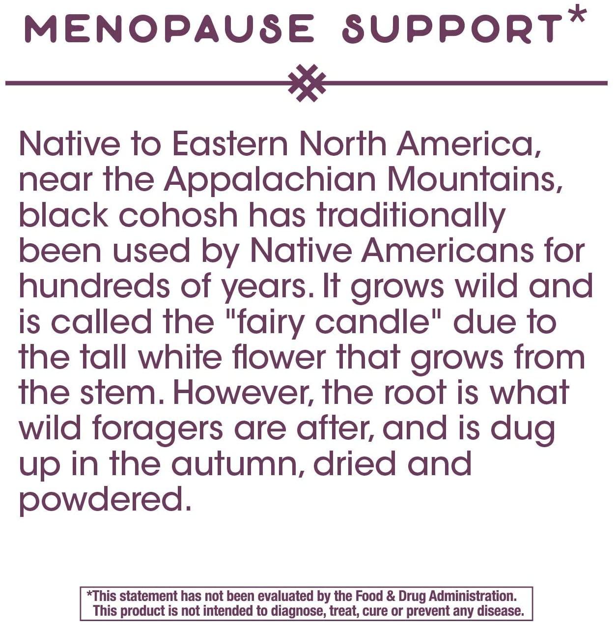 อาหารเสริม Black Cohosh ยี่ห้อที่ไหนดีเป็นอันดับที่ 5 ของอเมริกาขายNature s Way Standardized Black Cohosh 120 Capsules