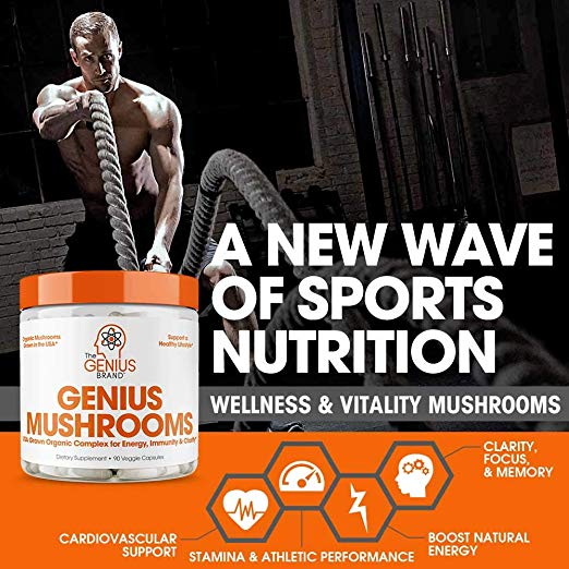 a new wave of sports nutrition mushroom