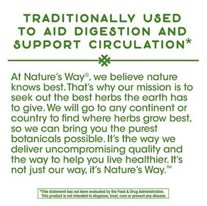 รูปสารสกัดพริก Nature's Way Cayenne 40,000 SHU Potency, 180 Vegetarian Capsules  by Nature's Way