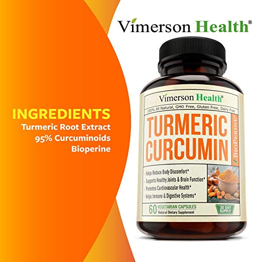 turmeric root extract 95% curcuminoids bioperine