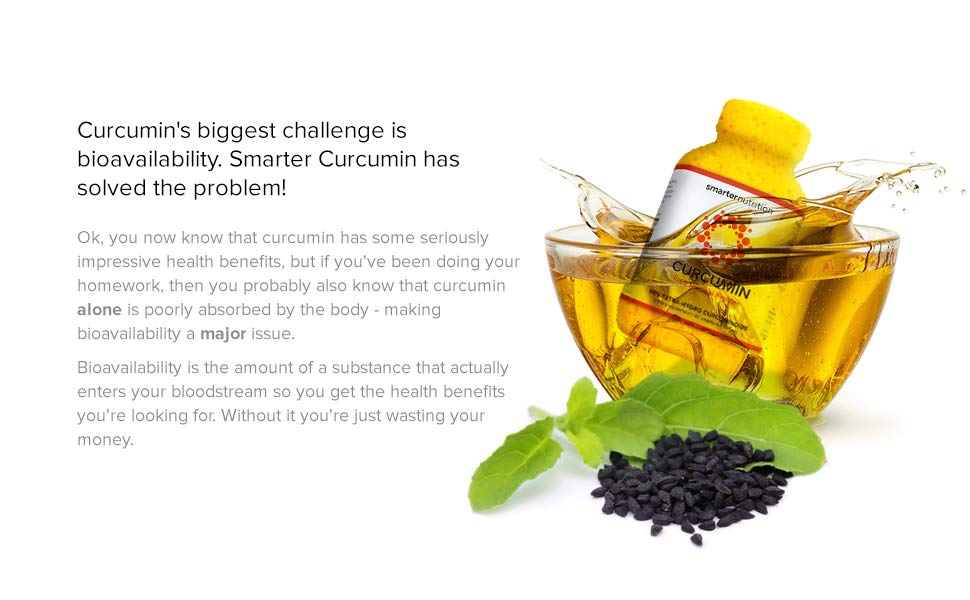 Curcumin's biggest challenge is bio-availability