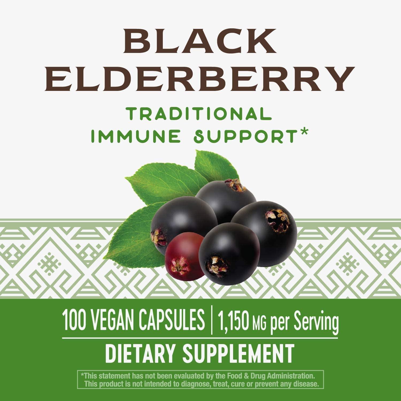 อาหารเสริม sambucus elderberry ยี่ห้อที่ไหนดีเป็นอันดับที่ 10 ของอเมริกา