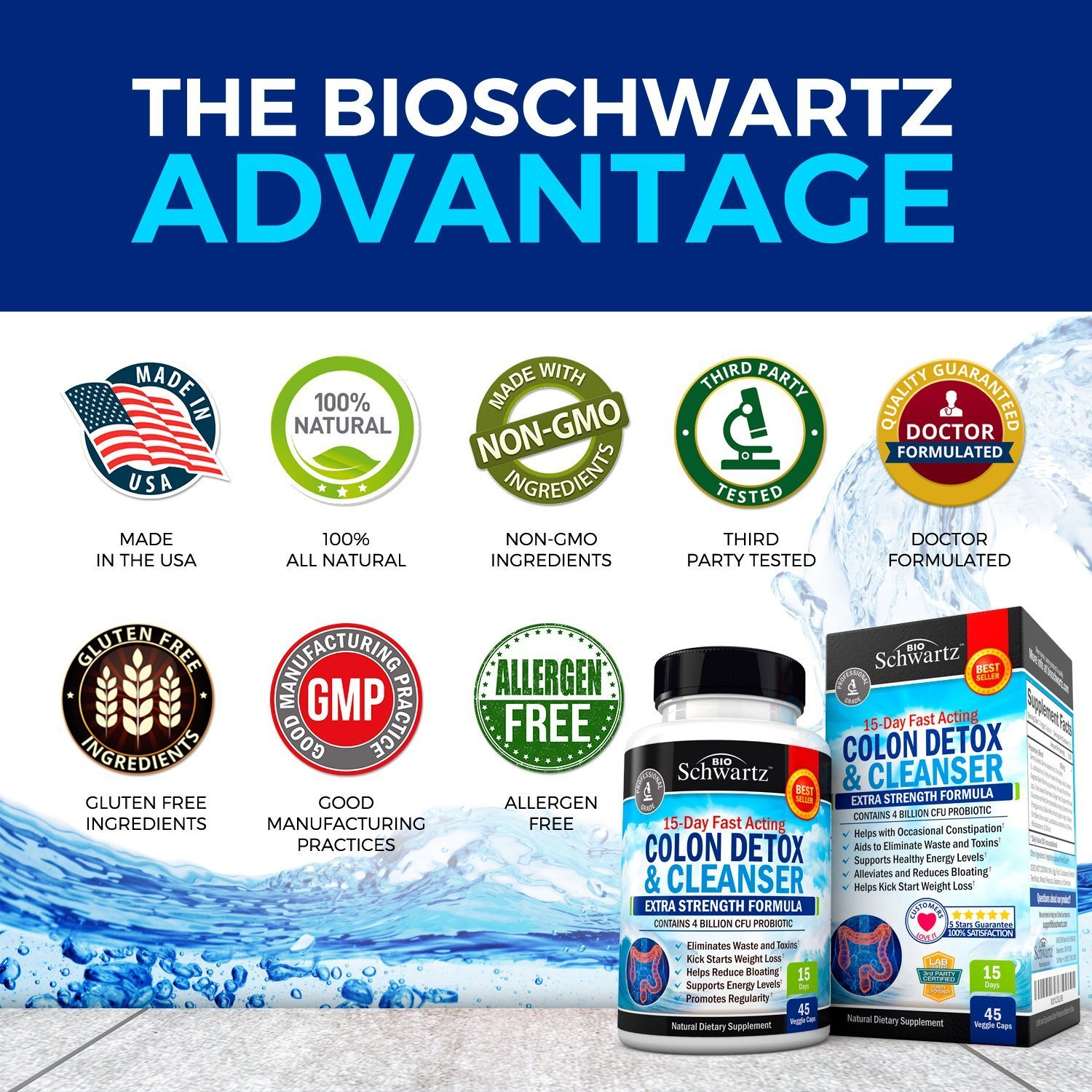 Colon Cleanser & Detox for Weight Loss BioSchwartz