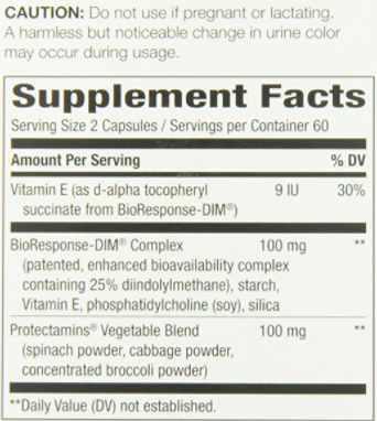 DIM ยี่ห้อที่ขายดีเป็นอันดับที่ 4 ของอเมริกา Nature's Way DIM-plus Estrogen Metabolism Formula