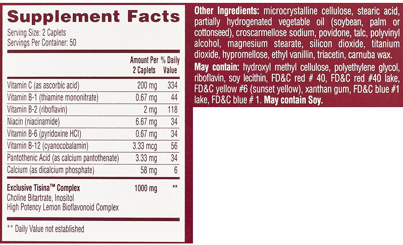 Lipo-Flavonoid Plus Ear Health Supplement, 100 Caplets